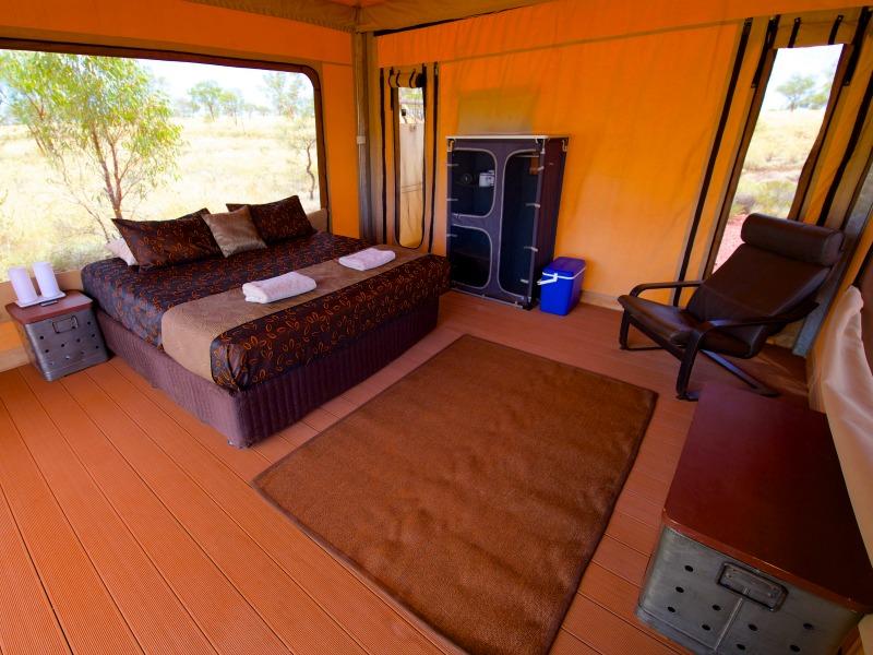 Deluxe Eco Tent Interior