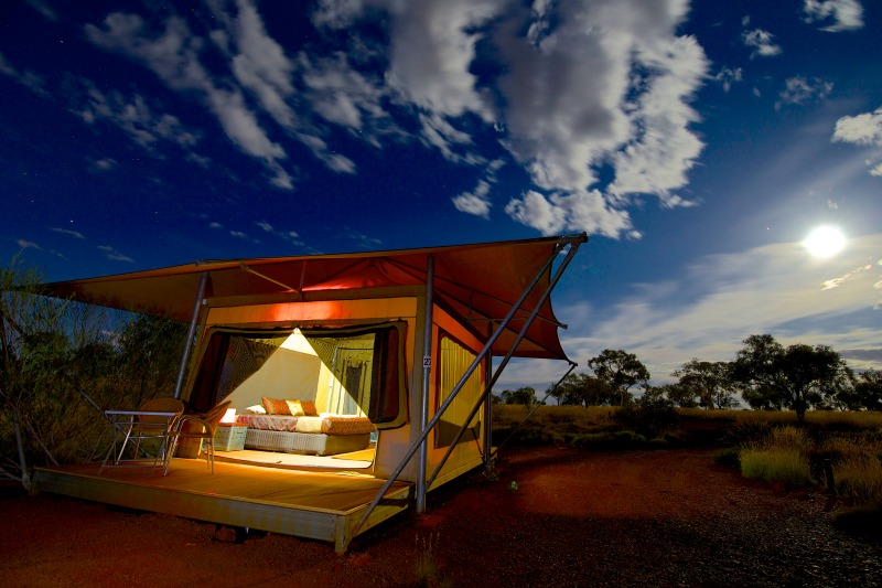 Deluxe Eco Tent at Karijini Eco Retreat