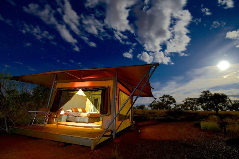 Deluxe Eco Tent at Karijini Eco Retreat