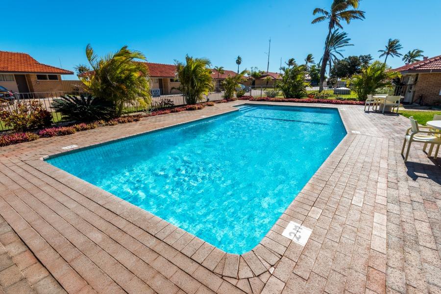 Pool Area at Best Western Hospitality Inns Carnarvon